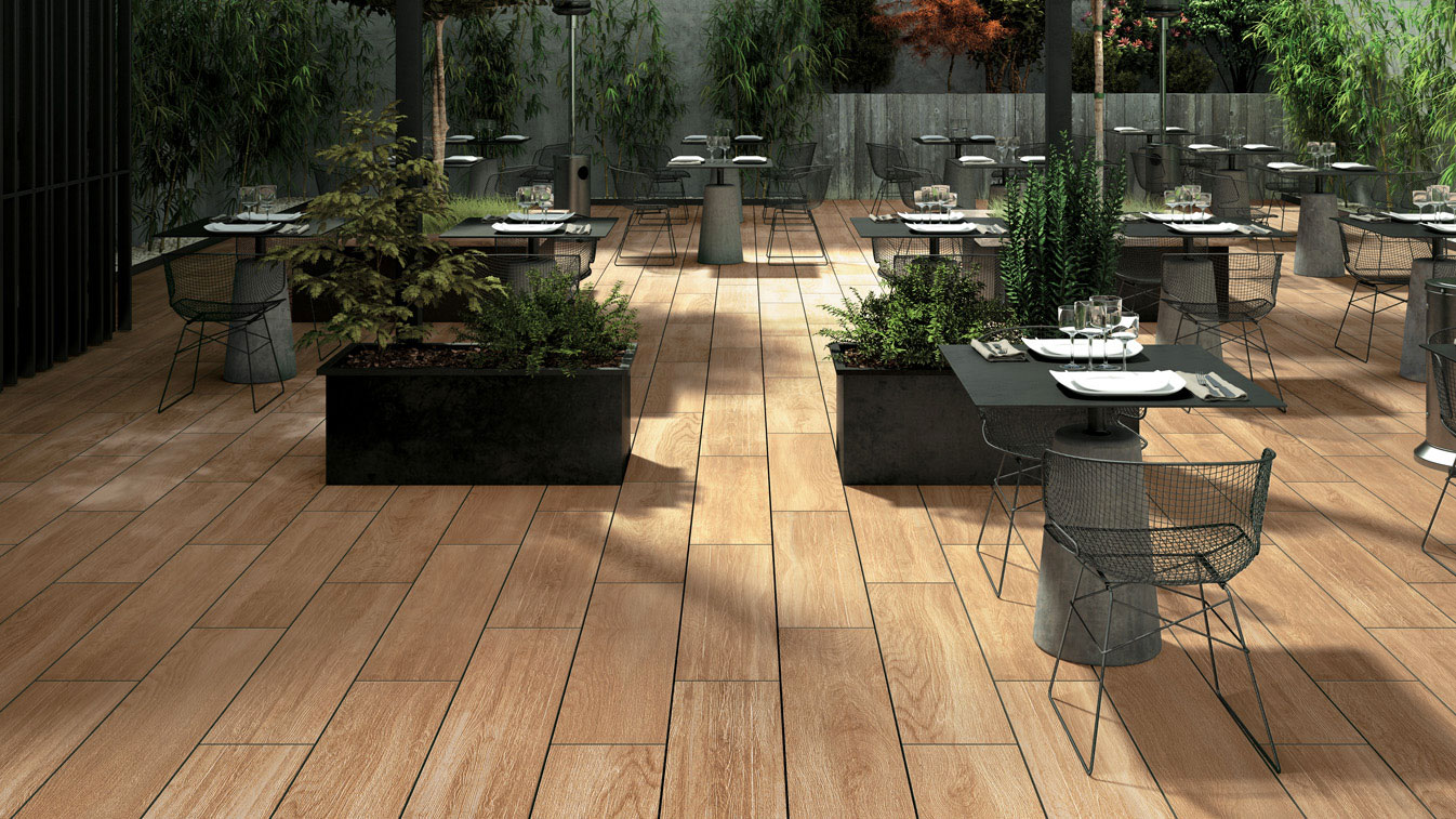 Signature the signature collection of porcelain tiles for Carrelage exterieur imitation bois
