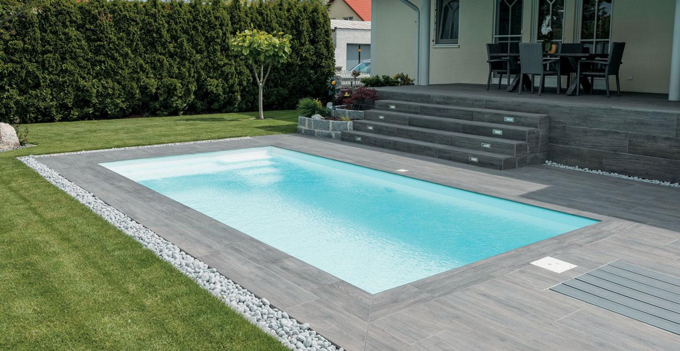 Vantaggi delle piastrelle per esterno evo 2e evo 2 e mirage - Piastrelle per piscina ...