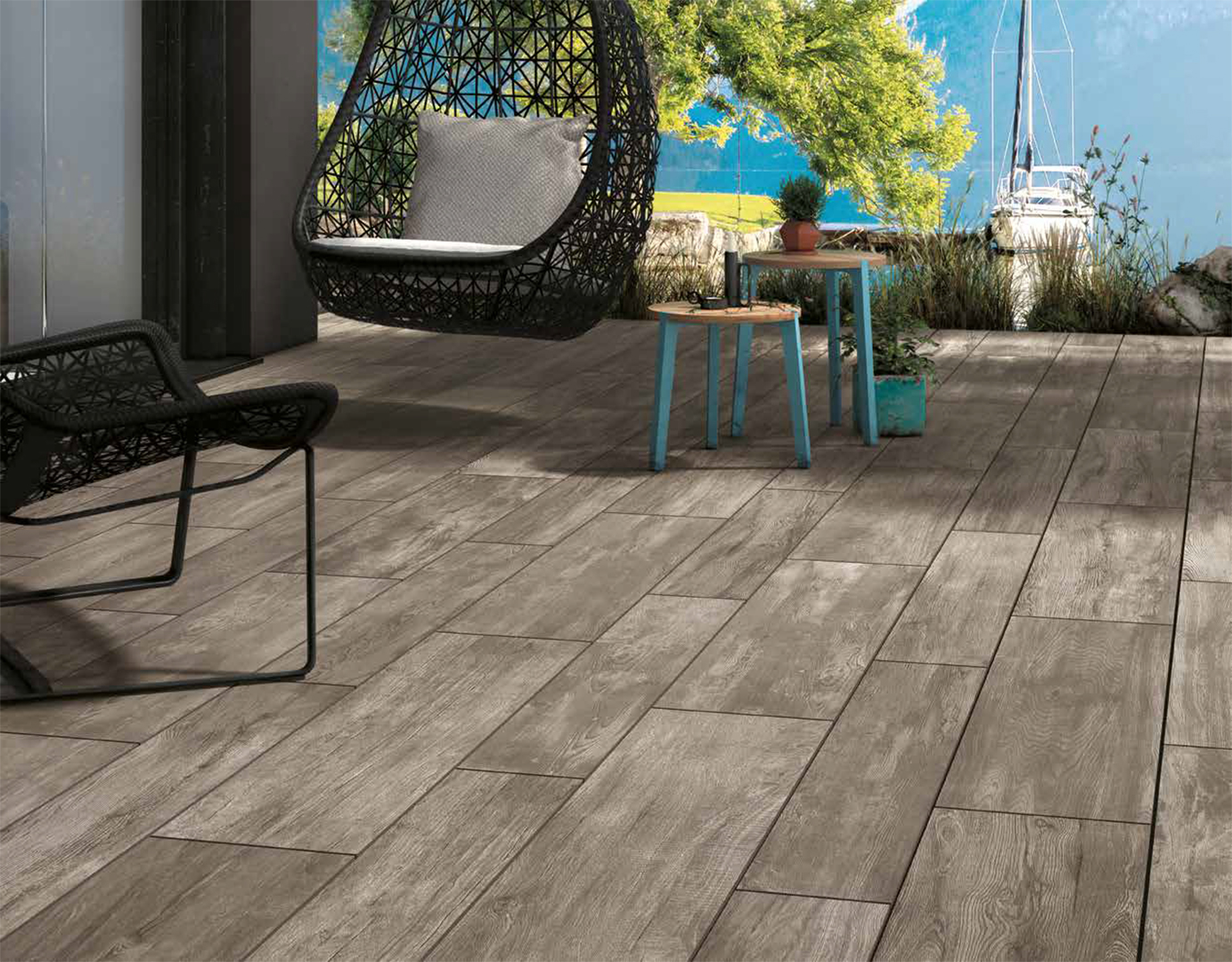 Nau 2 0 the nau 2 0 collection of ceramic tiles mirage for Fliesen outdoor holzoptik