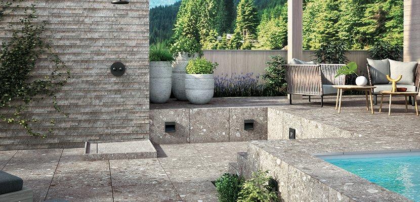 Fußböden und Fliesen für den Außenbereich | Mirage