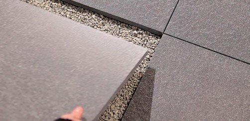 Sistemi di posa pavimenti esterno evo 2 e mirage for Piastrelle x garage