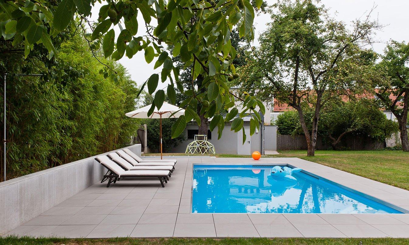 Villa con piscina a linz evo 2 e mirage - Progetto villa con piscina ...